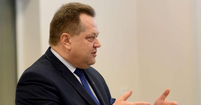 Jarosław Zieliński, sekretarz stanu w MSWiA. Fot. MSWiA