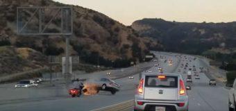 Zobacz, jak agresja na drodze doprowadza do wypadku