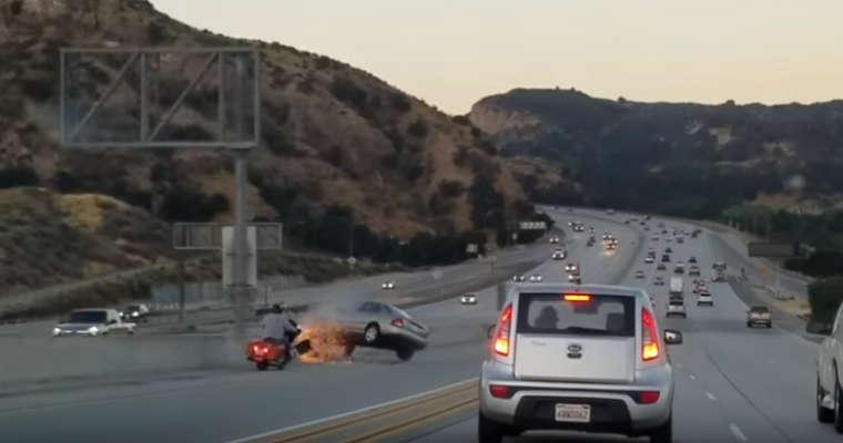 Agresja na drodze. Źródło: youtube