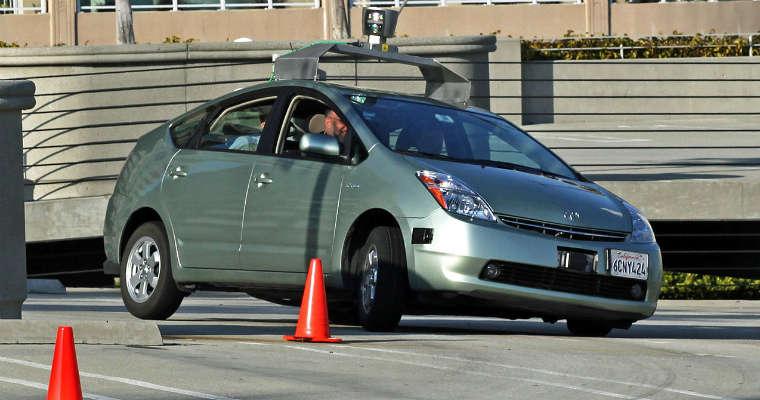 Samochód autonomiczny Google. Fot. Steve Jurvetson/CC-ASA-2.0