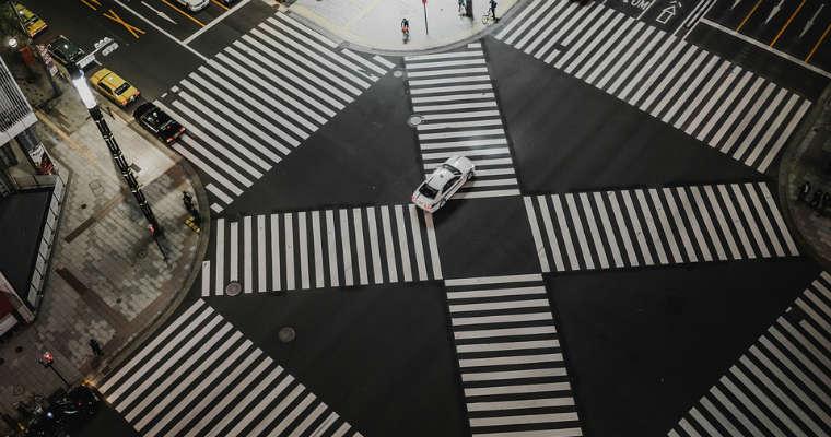 Przejścia dla pieszych. Fot. CC0