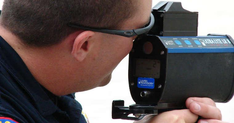 Radar policyjny Lidar. Fot. Loadmaster/CC ASA 3.0