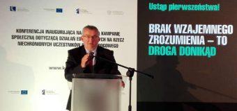 Minister Andrzej Adamczyk: nowa kampania pozwala zrozumieć się pieszym i kierowcom