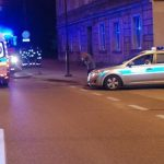 Wypadek z pieszym w Tczewie w lipcu 2017 r. Fot. policja