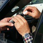 Kontrola trzeźwości kierowców. Fot. CCO