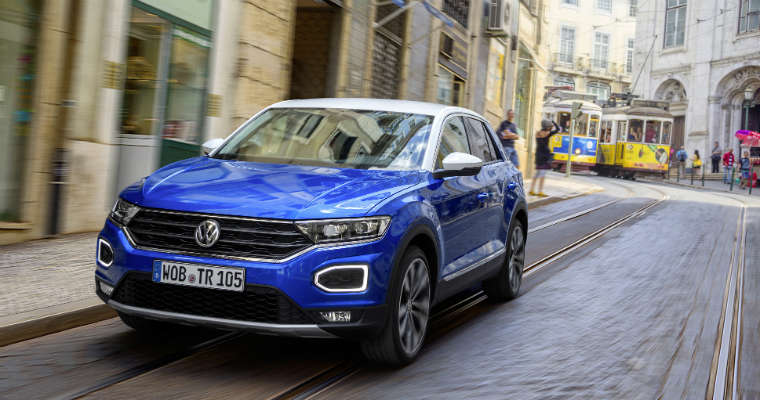 Volkswagen T-roc, nowy kompaktowy SUV. Fot. mat. prasowe