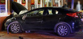 Lublin. Staranowała samochody, potrąciła pieszą i wjechała w sklep