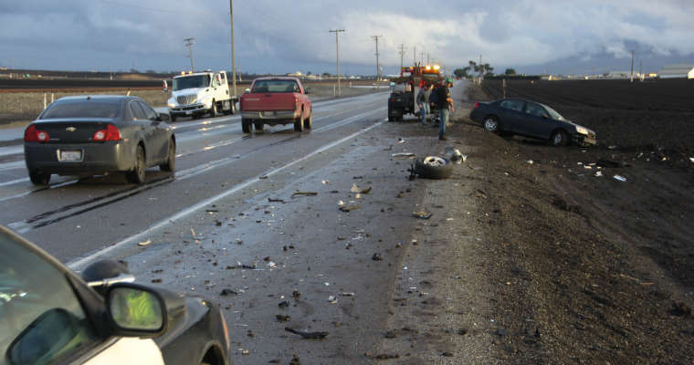 Wypadek drogowy. Fot. CC0