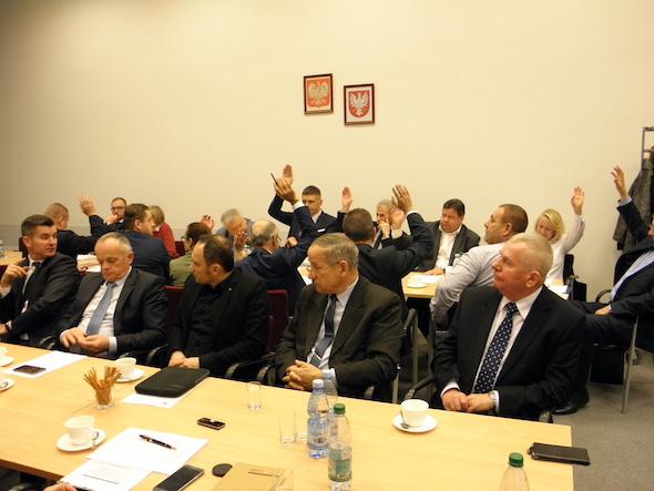 Posiedzenie Mazowieckiej Rady BRD. Fot. archiwum