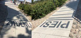 Rowerzysta: przydały by się progi ostrzegawcze na ścieżkach rowerowych