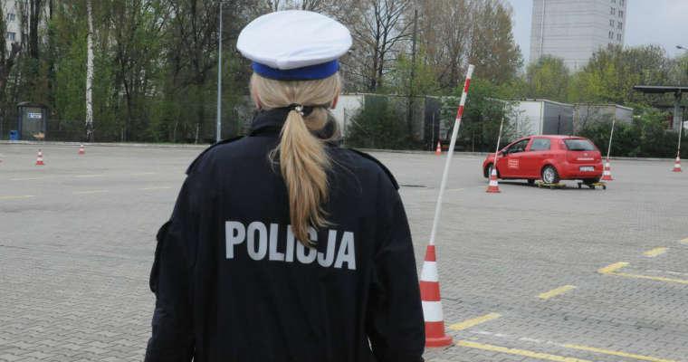 Bezpłatne warsztaty bezpiecznej jazdy w Katowicach FOT. katowice.slaska.policja.gov.pl