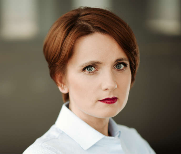 Agnieszka Dąbrowska, ekspert PIU. Fot. archiwum