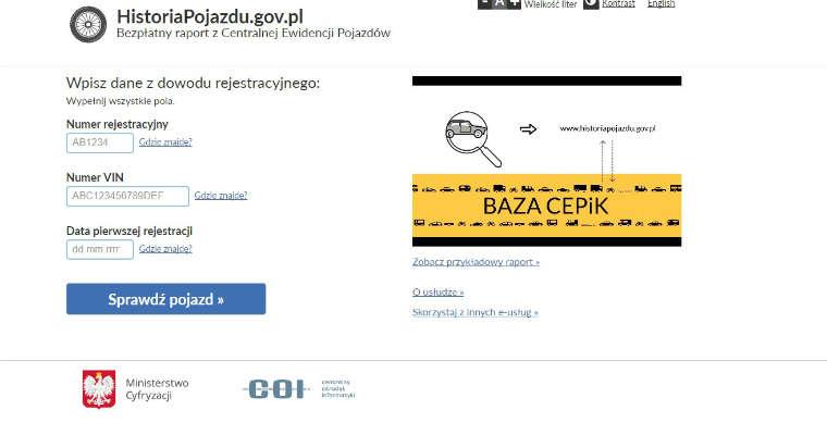 Fot: historiapojazdu.gov.pl