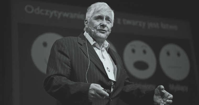 Prof. Jerzy Vetulani zginął zabity przez kierowcę na pasach. Miał 81 lat. Fot. CCA 2.0/TEDXKrakow