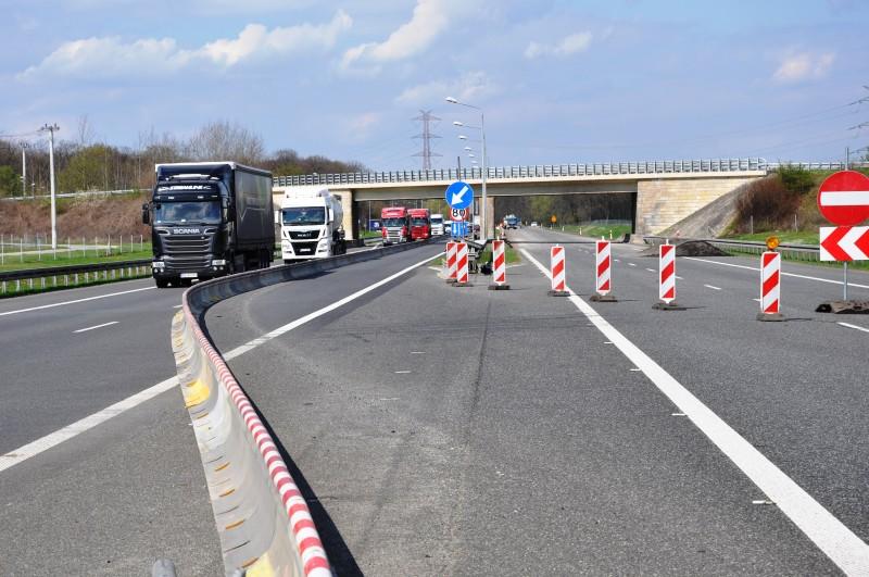 Remont na autostradzie. Fot. GDDKiA