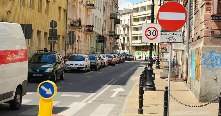 Kontrapas rowerowy w Lublinie. Fot. Wikimedia/Porozumienie Rowerowe