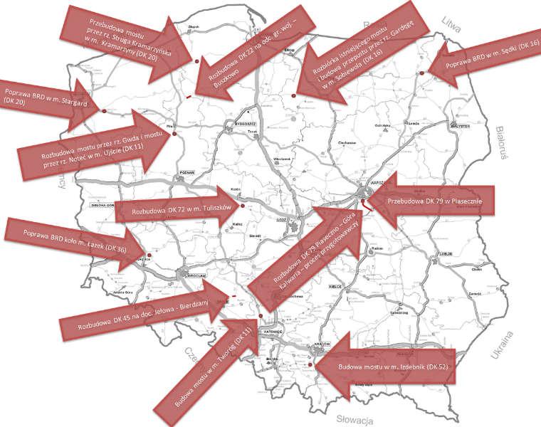 Poprawa stany dróg krajowych. Fot. Ministerstwo Infrastruktury
