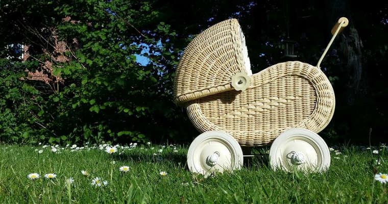 Wózek dziecięcy. Fot. CC0