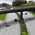 Kierowca jadący pod prąd na autostradzie w Niemczech w 2017 r. Fot. CC0