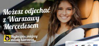 Konkurs dla młodych kierowców. Można wygrać mercedesa na 2 miesiące