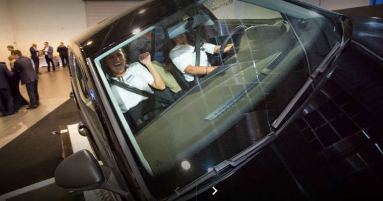 Szkolenie pracowników z bezpieczeństwa ruchu drogowego. Fot. Świadomy Kierowca