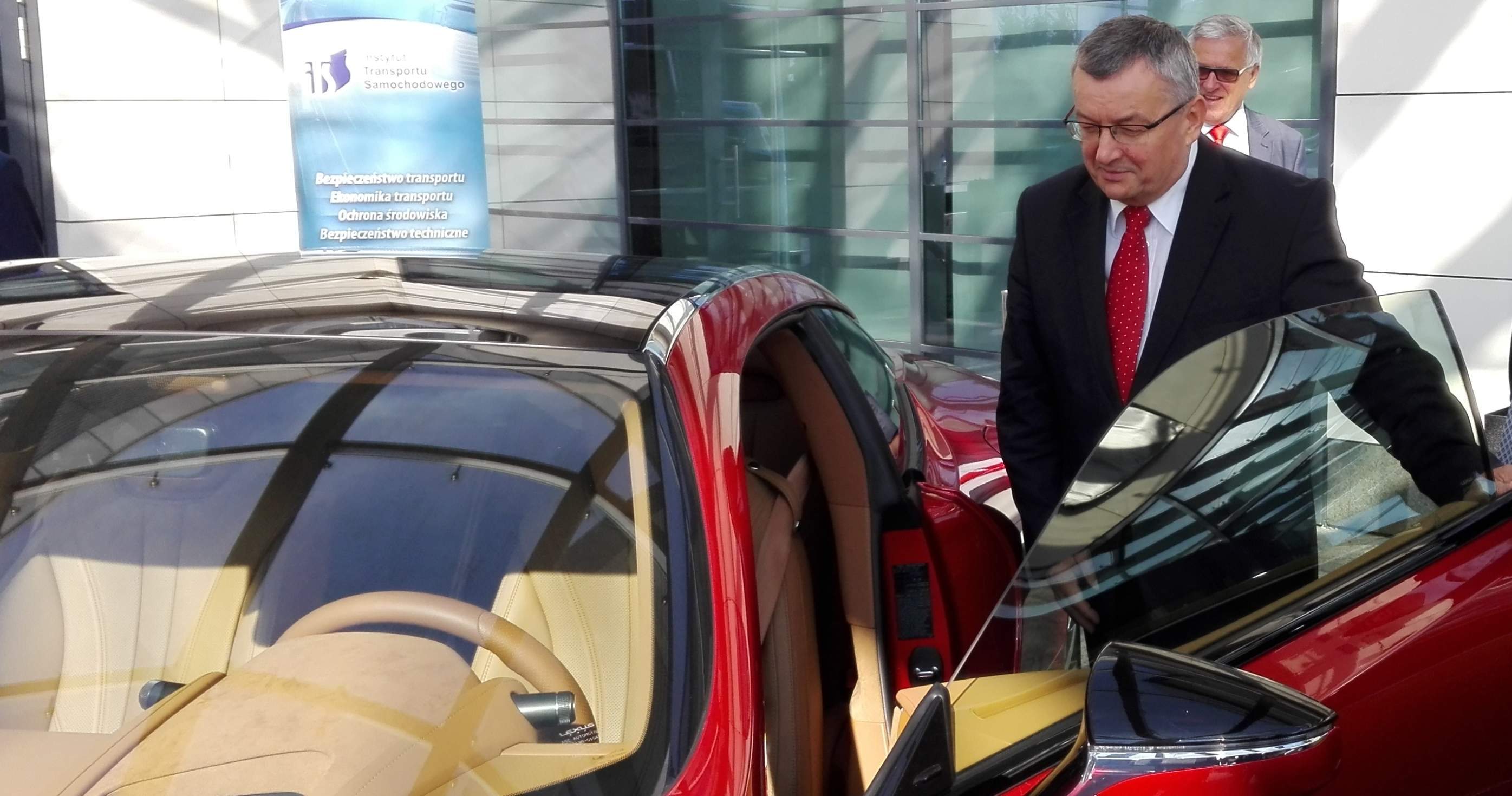 Minister infrastruktury i szef Krajowej Rady BRD Andrzej Adamczyk. Fot. brd24.pl