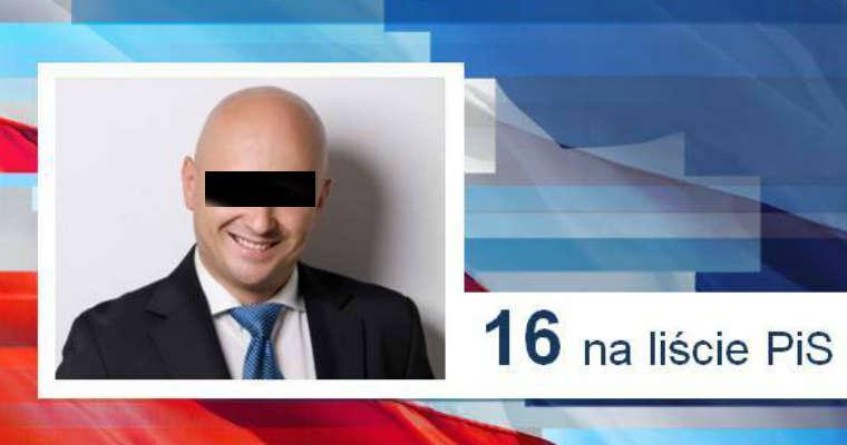 Jacek A. jako prezes spółki Centrozłom został złapany przez policję na kierowaniu pojazdem pod wpływem alkoholu. Dwa lata temu kandydował do Sejmu z listy PiS. Źródło: piswroclaw.pl
