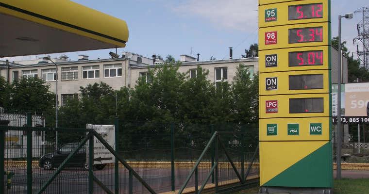 Ceny paliwa na stacjach na początku wakacji przekraczają 5 zł za litr. Fot. brd24.pl