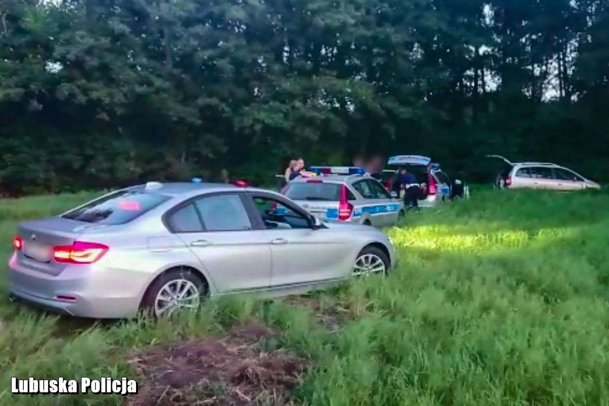 Kierowca po amfetaminie uciekał policji w powiecie nowosolskim. Fot. policja