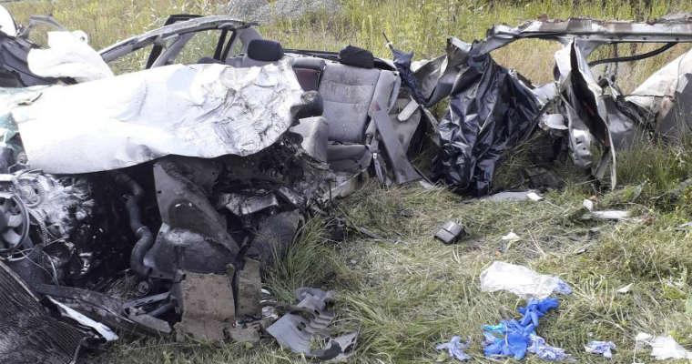 Wypadek w miejscowości Łęka koło Nowego Sącza. Fot. Policja