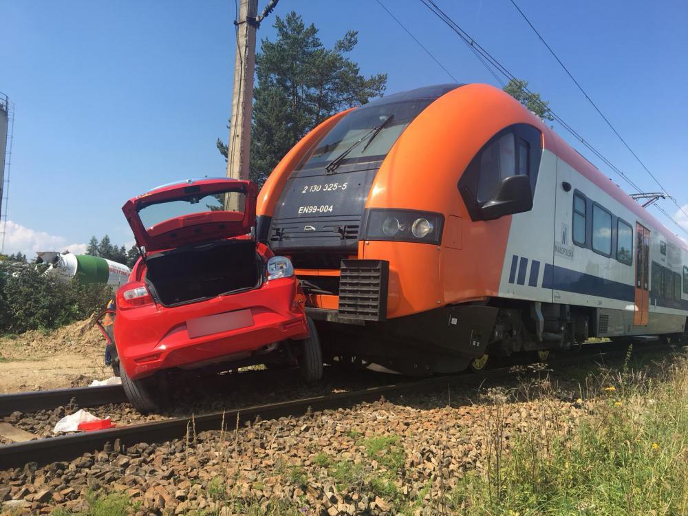 Śmiertelny wypadek w Szaflarach. Fot. Policja