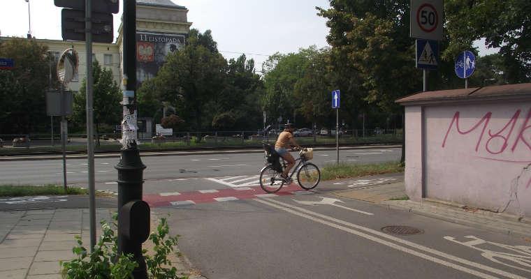 Skrzyżowanie po modernizacji. Fot. brd24.pl