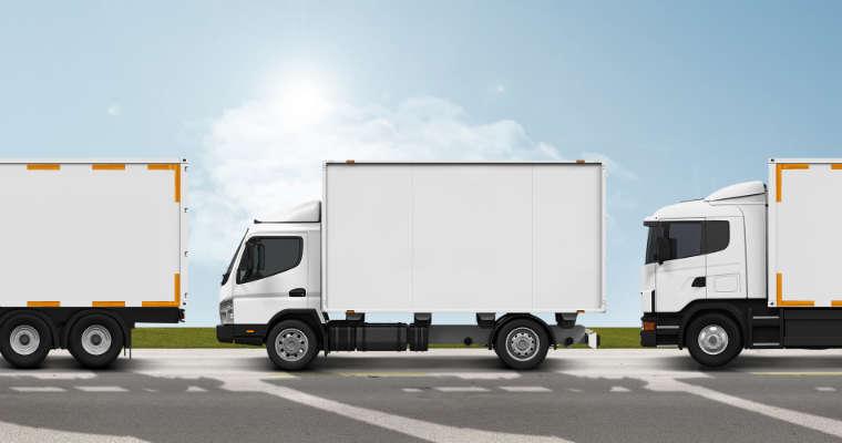 Oznakowanie konturowe samochodów ciężarowych. Fot. 3M