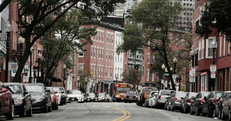 Ulica w Bostonie. Fot. CC0