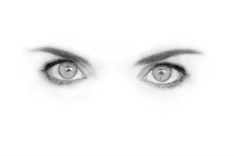 Oczy, wzrok. Fot. CC0