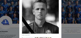 Uderzył w bariery, auto dachowało. Na A4 zginął 20-letni piłkarz Stali Rzeszów