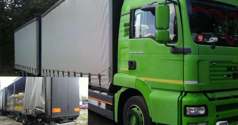 Ciężarówka skontrolowana w Rudzie Śląskiej. Fot. ITD