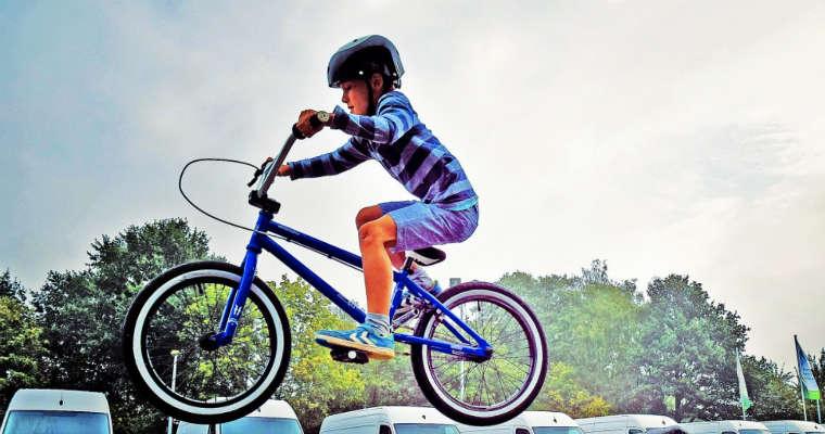 Dziecko na rowerze Fot. CC0