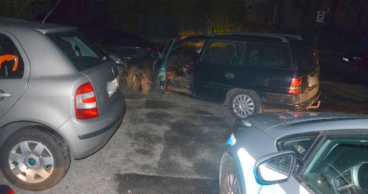 W Zielonej Górze nastolatkowie uszkodzili w sumie 12 samochodów. fot. Policja