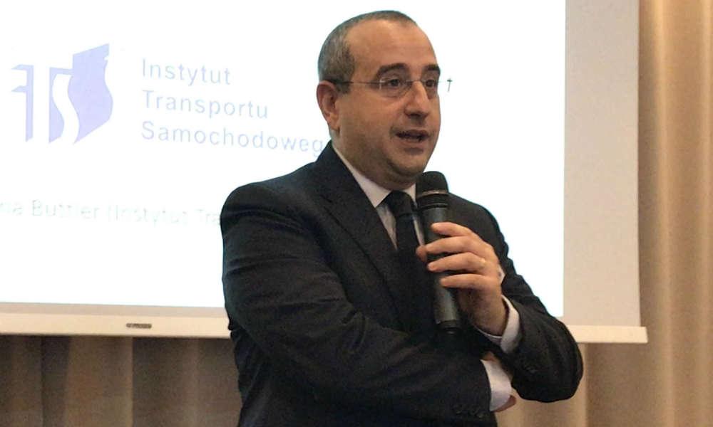 Antonio Avenoso, dyrektor wykonawczy ETSC. Fot. Łukasz Zboralski/brd24.pl