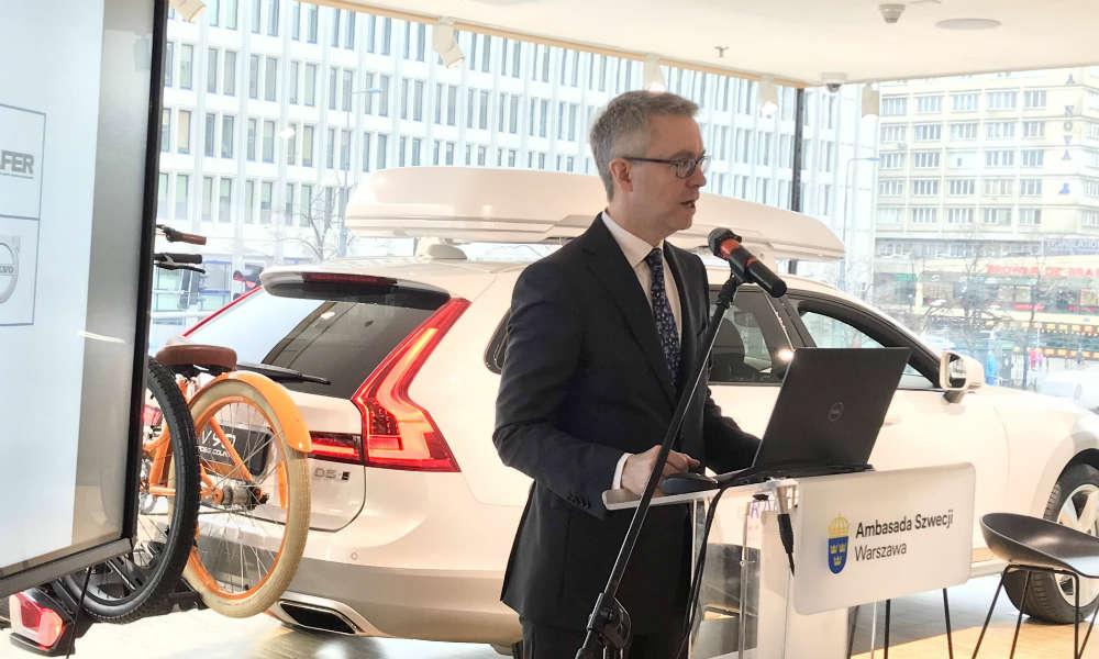 Stefan Gullen, ambasador Szwecji w Polsce. Fot. brd24.pl