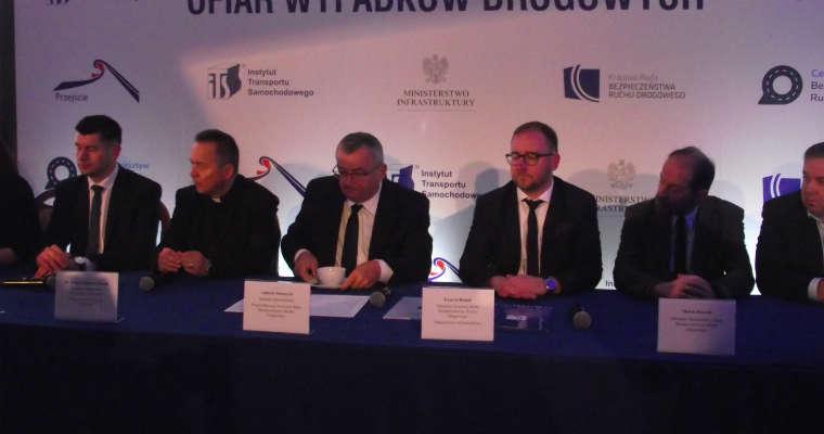Konferencja prasowa z okazji Światowego Dnia Ofiar Wypadków Drogowych. Fot. brd24.pl