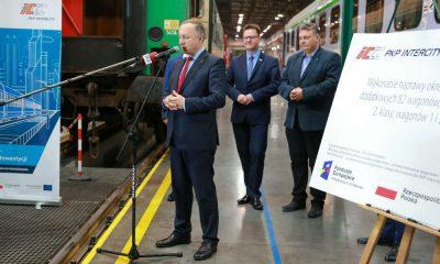 PKP Intercity rozszerzyło umowy z Pesa na modernizację wagonów kolejowych. Fot. mat. prasowe