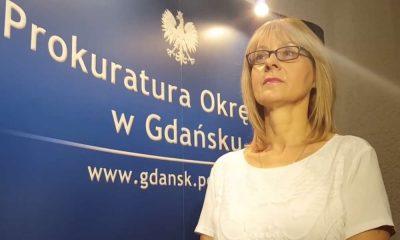 Grażyna Wawryniuk, rzecznik Prokuratury Okręgowej w Gdańsku. Źródło: YouTube