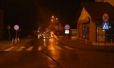 Śmiertelne potrącenie pieszego w miejscowości Radzanów. Fot. Policja