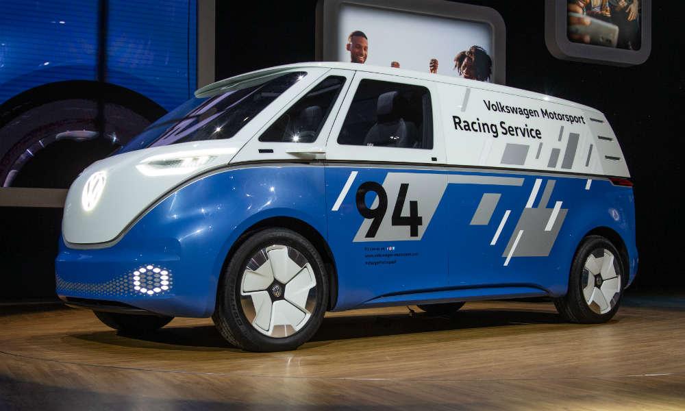 I.D. Buzz Cargo, elektryczny autonomiczny dostawczak VW. Fot. mat. prasowe