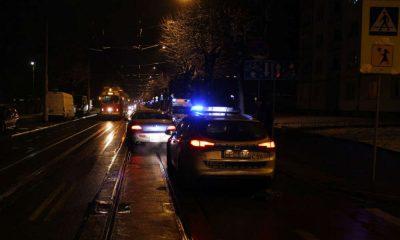 Kierowca potrącił 80-letnią kobietę na przejściu dla pieszych w Grudziądzu. Fot. Policja