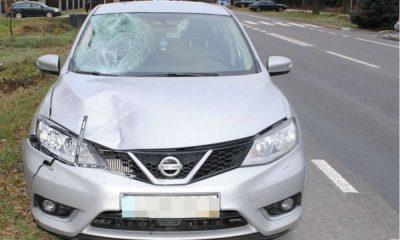 Kierowca nissana śmiertelnie potrącił 69-latka na przejściu dla pieszych w Krasnymstawie Fot. Policja
