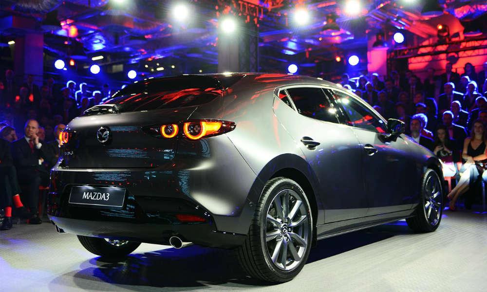 Mazda 3 fot. mat prasowe