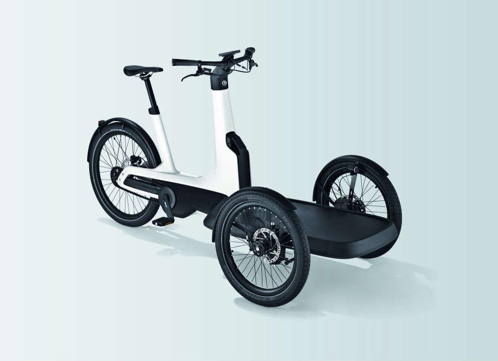 Cargo e-bike, elektryczny rower dostawczy VW. Fot. mat. prasowe